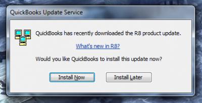 QuickBooks 2010 Release 8