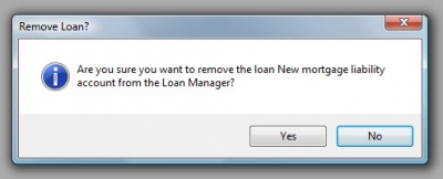 QuickBooks Loan Manager Remove Loan