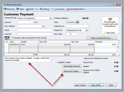 QuickBooks Premier 2009 Vendor Customer 3