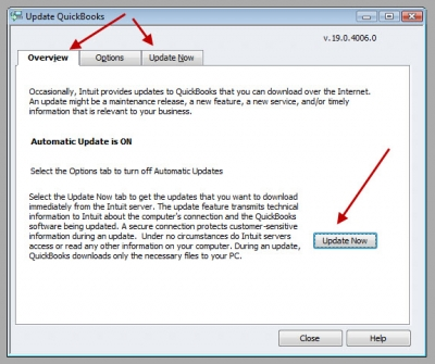 QuickBooks Premier 2009 Update Overview
