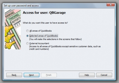 QuickBooks Premier 2009 User Access