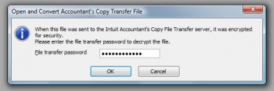 QuickBooks Accountants Copy Password