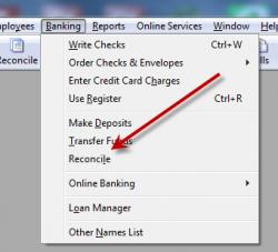 QuickBooks Keyboard Shortcuts Using the Alt Key