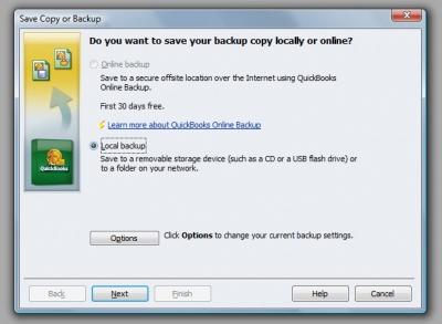 QuickBooks Premier 2009 Rebuild Backup 2